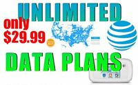 Unlimited Hotspot data for $29.99 month. For RV's, Truckers and Rural areas