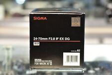 Sigma 24-70mm f/2.8 IF EX DG HSM for Nikon AF
