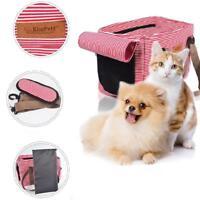 Foldable Pet Carrier Soft Crate Cage Dog Cat Travel Bag Kennel Portable Handbag