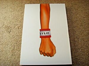 Kylie Minogue Coffee Table 'Fist' Pink Hardback Book in Slipcover 1999