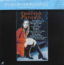 LaserDisc LD VANESSA PARADIS Tous ses clips 52 Min. 1993 rare Japan OBI