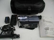 sony digital 8 handy cam dcr trv 250