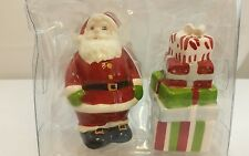 NEW Santa and Christmas Presents Salt & Pepper Shakers Holiday Kitchen Decor