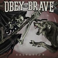 OBEY THE BRAVE - SALVATION  CD NEW!