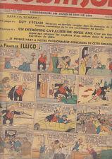 C1 ROBINSON # 58 1937 GUY L ECLAIR Mandrake RICE BURROUGHS Popeye FAMILLE ILLICO