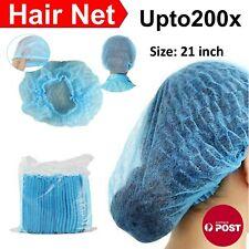 Disposable Hair Net Caps Hairnet Dust Head Cover Stretch Elastic Hat Upto 200pcs