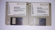 MICROSOFT WINDOWS 3.1 Floppy 3.5 3 1/2 Disk Vintage Retro & IBM PC excel, PP