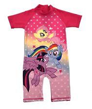 f3c8569be1 Girls Character Swimsuits Sun Safe Beach Swimming Costume Sunsuit Kids Size  UK