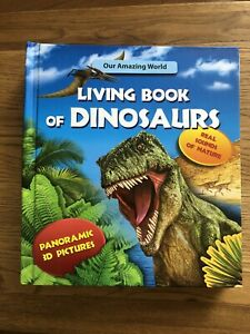 Living Book Of Dinosaurs For Children NEW (With Sound)
