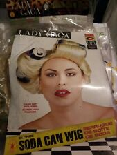 Lady gaga wig  Rubies    50 % OFF FINAL SALE