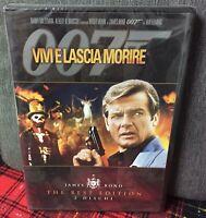 Agente 007 Vivi e lascia morire (1973) 2 DVD Nuovo The Best Edition Roger Moore