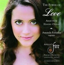 THE POWER OF LOVE: ARIAS FROM HANDEL OPERAS NEW CD