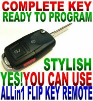 EURO STYLE FLIP FOB for 2001-2006 ACURA MDX chip fob KEYLESS ENTRY REMOTE ALARM