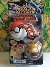 Pokemon Plush Bidoof Poke Ball Throw Action Figure Toy New in Pack Rare