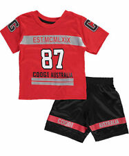 Boys Coogi 2-Piece Outfit Shirt & Shorts Set NWT Size 12 Months