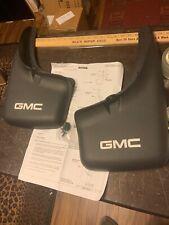 GMC 12463454 Front Splash Guards Mud Flaps Logo   (gm11
