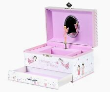 Floss & Rock Fairy Blossom Childrens Wind Up Musical Jewellery Trinket Box Gift