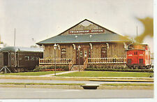 Twickenham Station Rail Car Dining Rooms, Huntsville, Alabama - Postcard