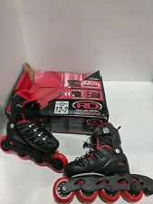 oller Derby Boy's Stinger 5.2 Adjustable Inline Skate Sz 12-2
