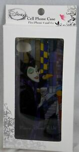 Disney Sleeping Beauty Maleficent Stained Glass iPhone 4/4S Cell Phone Case IP4