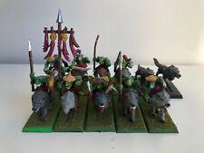 Jinetes de lobo goblin - Orcos y Goblins - Warhammer Fantasy