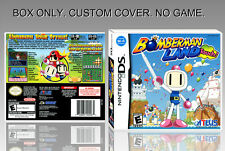 """NINTENDO DS : BOMBERMAN LAND TOUCH. UNOFFICIAL COVER. ORIGINAL BOX. """"NO GAME""""."""