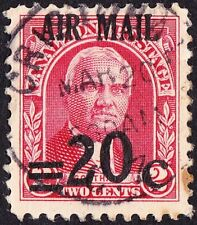 Canal Zone - 1929 - 20 Cent on 2 Cent Surcharged Airmail Issue w Dropped 2 # C5a