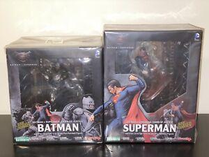BATMAN V SUPERMAN: Dawn Of Justice ArtFX+ Statue Set Kotobukiya COLLECTOR GRADE