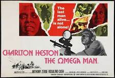 THE OMEGA MAN Movie POSTER 30x40 Charlton Heston Anthony Zerbe Rosalind Cash