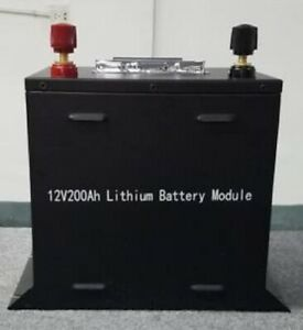 12V/200Ah  24V/100Ah Deep Cycle BMS Rechargeable Solar LiFePO4 Battery/Customize