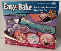 NEW Easy Bake Cake Decorating Sensation Frosting Pen Kit Bakery - New In Box