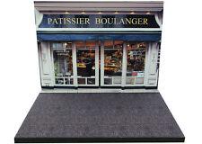 Diorama présentoir Boulangerie / Bakery - 1/43ème - #43-2-A-A-071