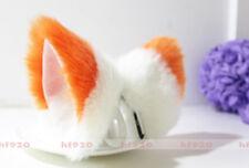 Cat Fox Ears Kitty Costume Halloween Cosplay Fancy Dress Mixed color Kits