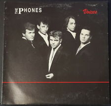THE PHONES - VOICES '80'S AUSSIE A CAPPELLA RICH RIVER RECORDS TPR 1990 RARE!!!!