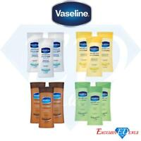 3 x Vaseline Intensive Repair Aloe Soothe Essential Healing Lotion Cream 400ml