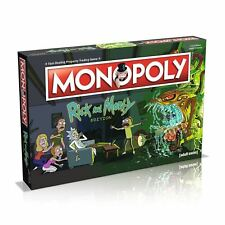 Rick & Morty Edition Monopoly Family Property Trading Board Game