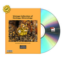 Encyclopedia, Manual, Handbook,Outline, Geology Mineral Book On DVDR Collection