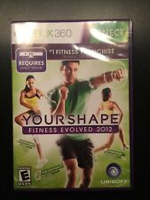 Your Shape Fitness Evolved 2012 Xbox 360 Kinect Game Workout Exercise  S-42