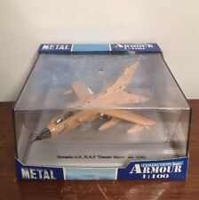 Desert Storm Metal Armour Tornado U.K. R.A.F. 1:100 Scale Model Airplane 5083