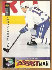 1995-96 Collector's Choice Player's Club #362 Joe Sakic | HOF | Quebec nordiques