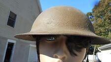 US Vintage Helmet  Z C 205 Leather Strap Is Broken