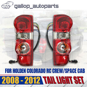*NEW* TAIL LIGHT LAMP for HOLDEN COLORADO RC CREW/SPACE CAB 2008 - 2012 L+R