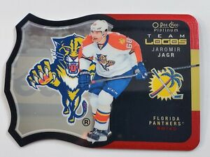 2015-16 O-Pee-Chee OPC Platinum Team Logo Jaromir Jagr #T-13 Panthers