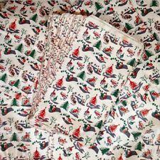 Sachet Noël Kraft Papier Fêtes Cadeau Ancien Farce Et Attrape Vintage 1960 3