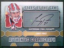 CAREY PRICE 12/13 AUTHENTIC STARS OF THE GAME AUTOGRAPH  SP