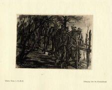 Walter Miehe 2.g. - r. - r. armoniosa sommesuempfe guerra pintor * era artist * 1.wk
