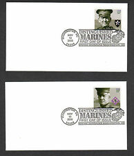 SCOTT # 3961-3964 Distinguished Marines United States U.S. Stamps MINT FOUR FDC