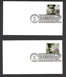 SCOTT # 3961-3964 Distinguished Marines United States U.S. Stamps MINT FOUR FDC