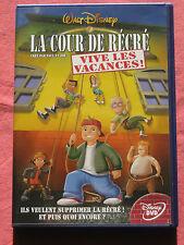 LA COUR DE RÉCRÉ- VIVE LES VACANCES - DVD Disney