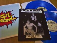 N.Y.H.C. NEW BREED Comp. LP BLUE VINYL OUTBURST BREAKDOWN AGNOSTIC FRONT LEEWAY